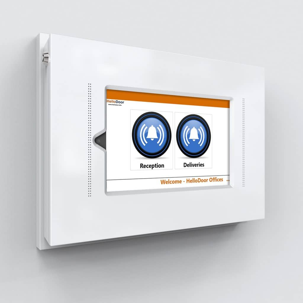 HelloDoor Touch8 Pro With PoE Extension